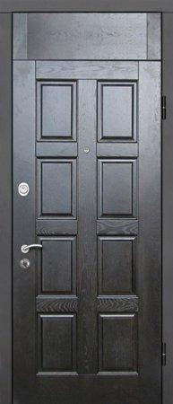 Двухлистовая металлическая дверь - 17-19