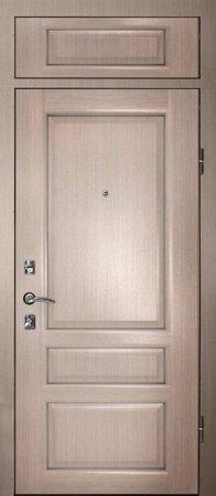 Двухлистовая металлическая дверь - 17-20