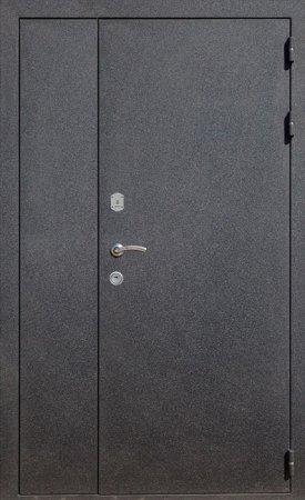 Двухлистовая металлическая дверь - 17-21