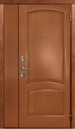 Двухлистовая металлическая дверь - 17-22