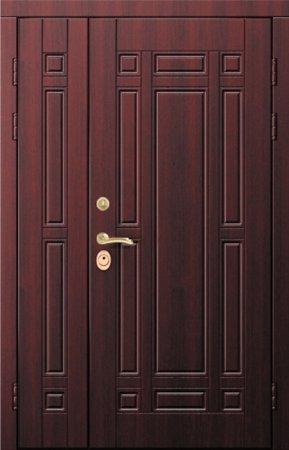 Двухлистовая металлическая дверь - 17-24