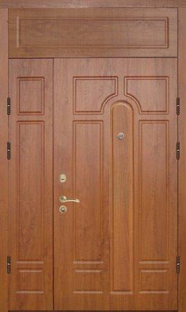 Двухлистовая металлическая дверь - 17-25