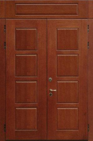 Двухлистовая металлическая дверь - 17-26