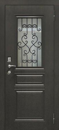 Двухлистовая металлическая дверь - 17-29