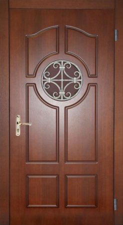 Двухлистовая металлическая дверь - 17-30