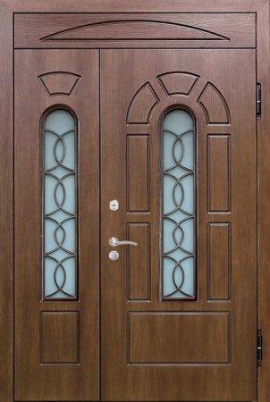 Двухлистовая металлическая дверь - 17-35