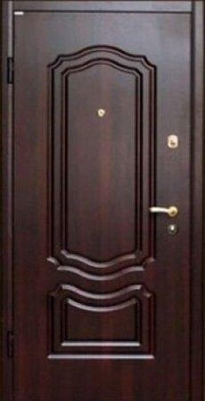 Двухлистовая металлическая дверь - 17-50
