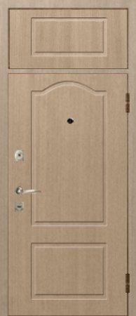 Двухлистовая металлическая дверь - 17-54