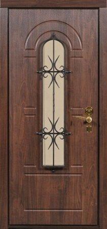 Двухлистовая металлическая дверь - 17-57