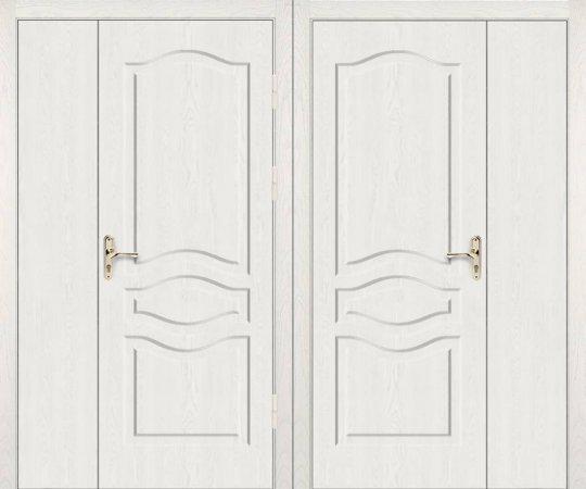 Двухлистовая металлическая дверь - 17-95