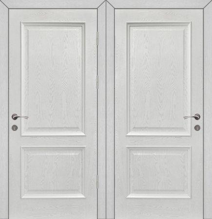 Двухлистовая металлическая дверь - 18-16