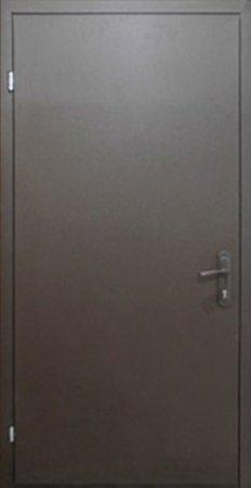 Двухлистовая металлическая дверь - 18-20