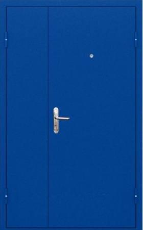 Двухлистовая металлическая дверь - 18-22