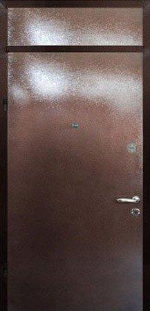 Двухлистовая металлическая дверь - 18-24
