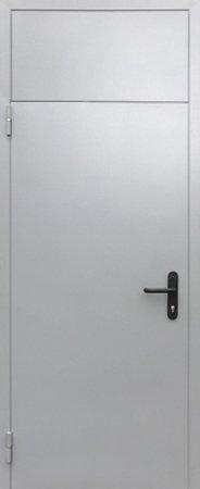 Двухлистовая металлическая дверь - 18-25