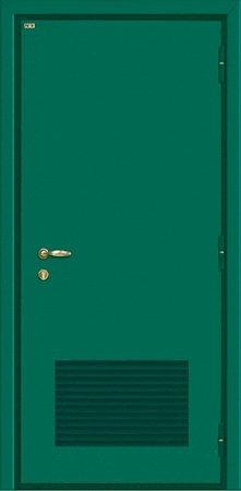 Двухлистовая металлическая дверь - 18-30