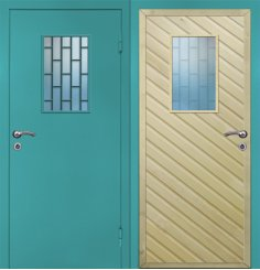 Входная металлическая дверь - ДЧ-009