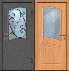 Входная металлическая дверь - СТР-022