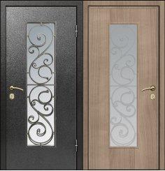 Входная металлическая дверь - СТР-003