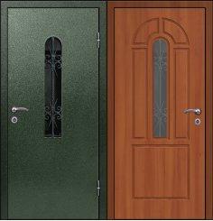 Входная металлическая дверь - СТР-004