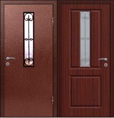 Входная металлическая дверь - СТР-006