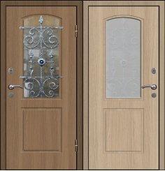 Входная металлическая дверь - СТР-007