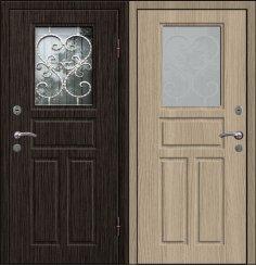 Входная металлическая дверь - СТР-009