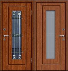Входная металлическая дверь - СТР-010