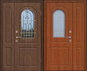 Входная металлическая дверь - СТР-016