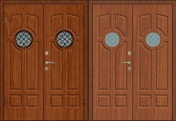 Входная металлическая дверь - СТР-018