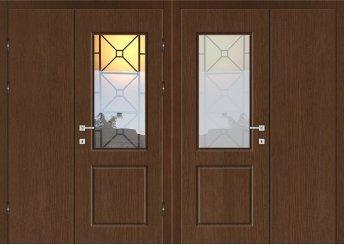 Входная металлическая дверь - УД-012