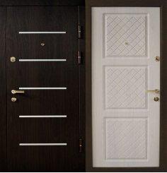 Входная металлическая дверь - ДВ-027